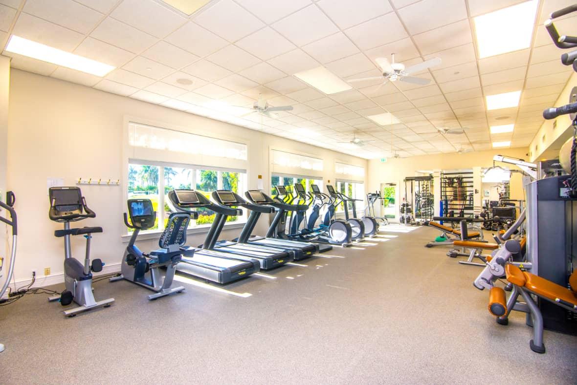 Estuary fitness room