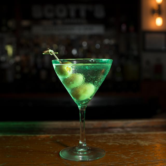 It's okay to drink alone, but it's never okay to drink at home. Stop by Scott's for a refreshing cocktail!