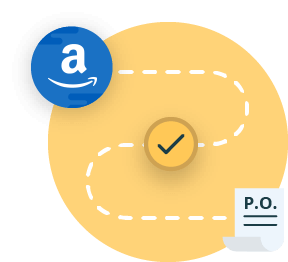 Automatic purchase order generation with Amazon
