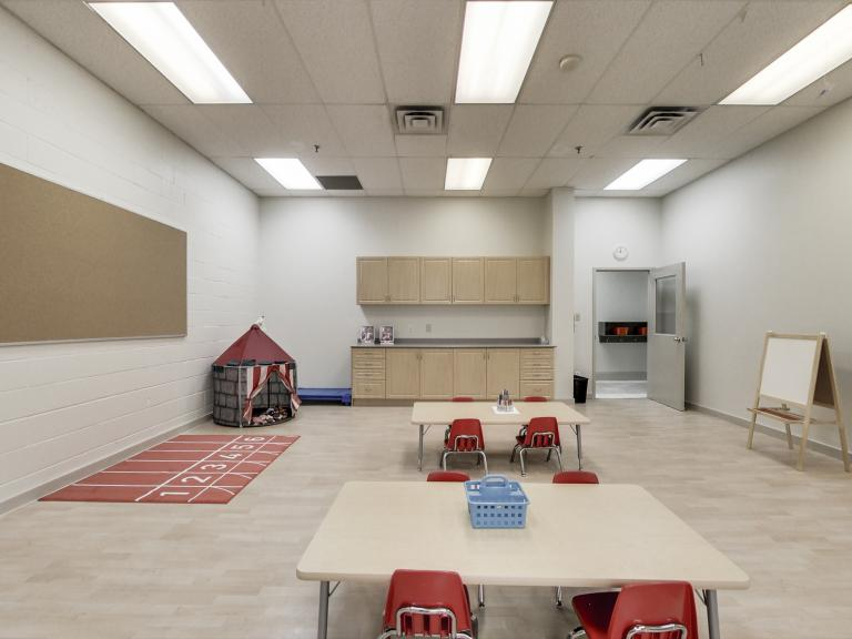 Classroom at Uptown Montessori School