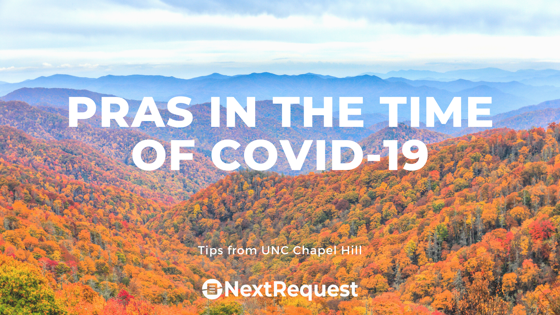 Public Records in the Time of COVID-19: Tips from UNC Chapel Hill