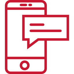 Icon: Phone with notification - OttoLearn Microlearning