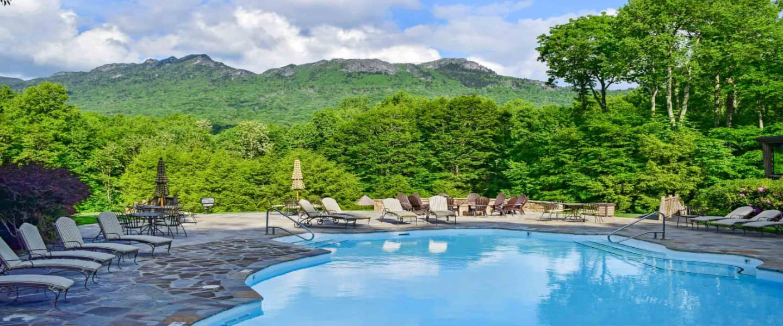 Pool st Linville Ridge NC