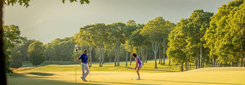 Golf at Linville Ridge NC