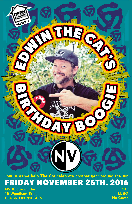 Edwin the Cat's B-day Nov 25 2016