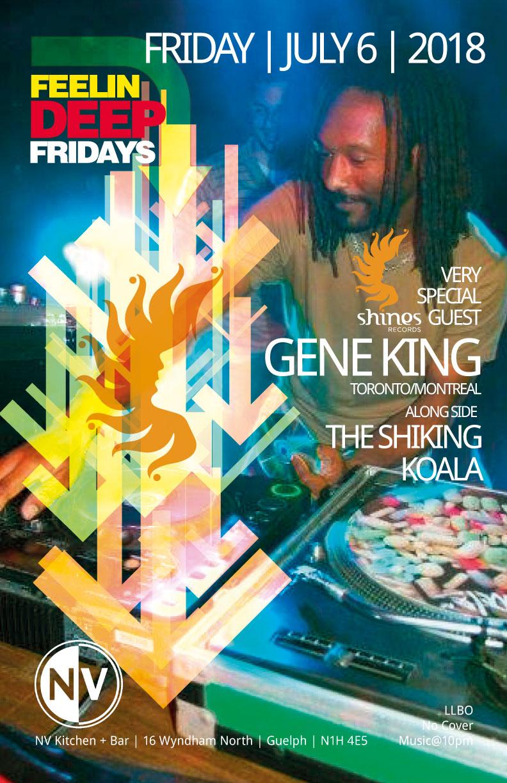 Feelin Deep, Gene King NV Lounge - with Dj Koala and Shiking