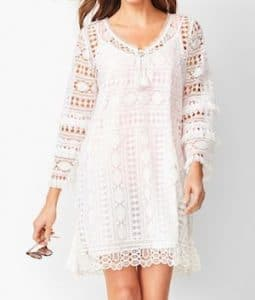 Boho Lace Beach Cover Up