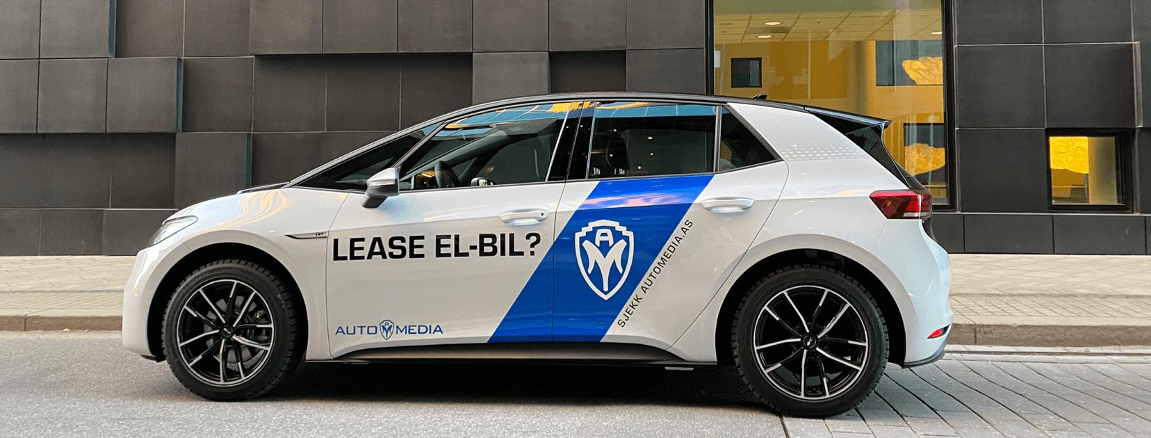 Reklame på bil hos Automedia