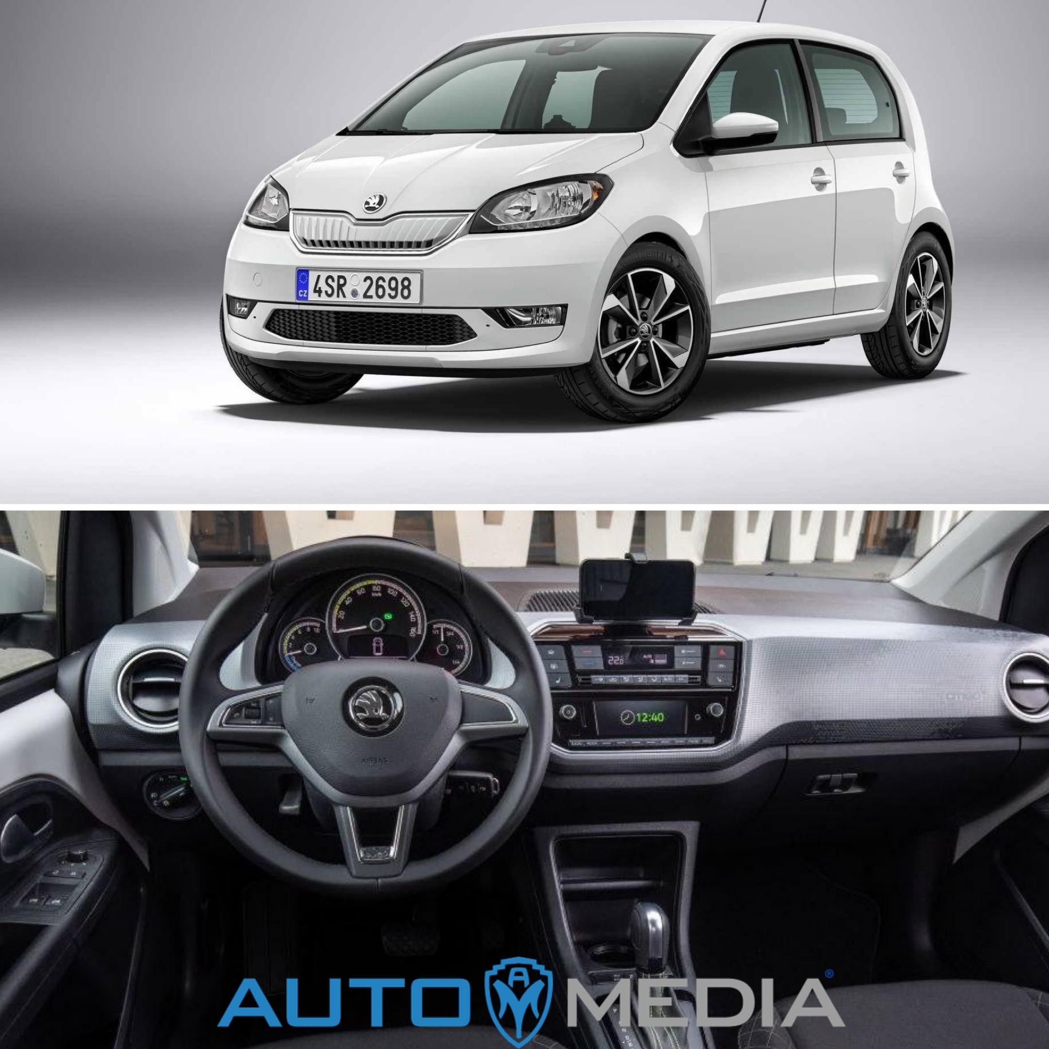 Škoda Citigo er tilgjenglig for privatleasing og firmabil.