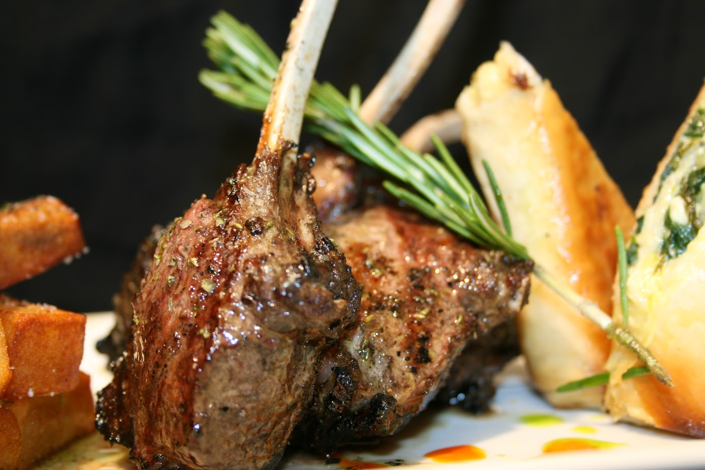 plates of greek food