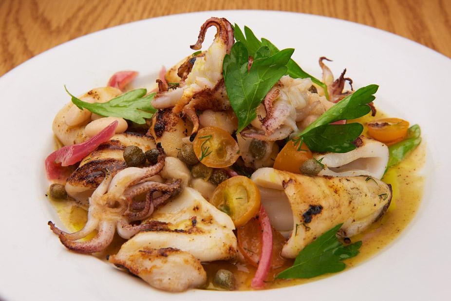 plate of calamari