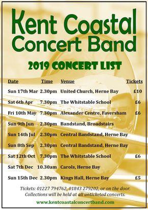 Kent Coastal Concert Band