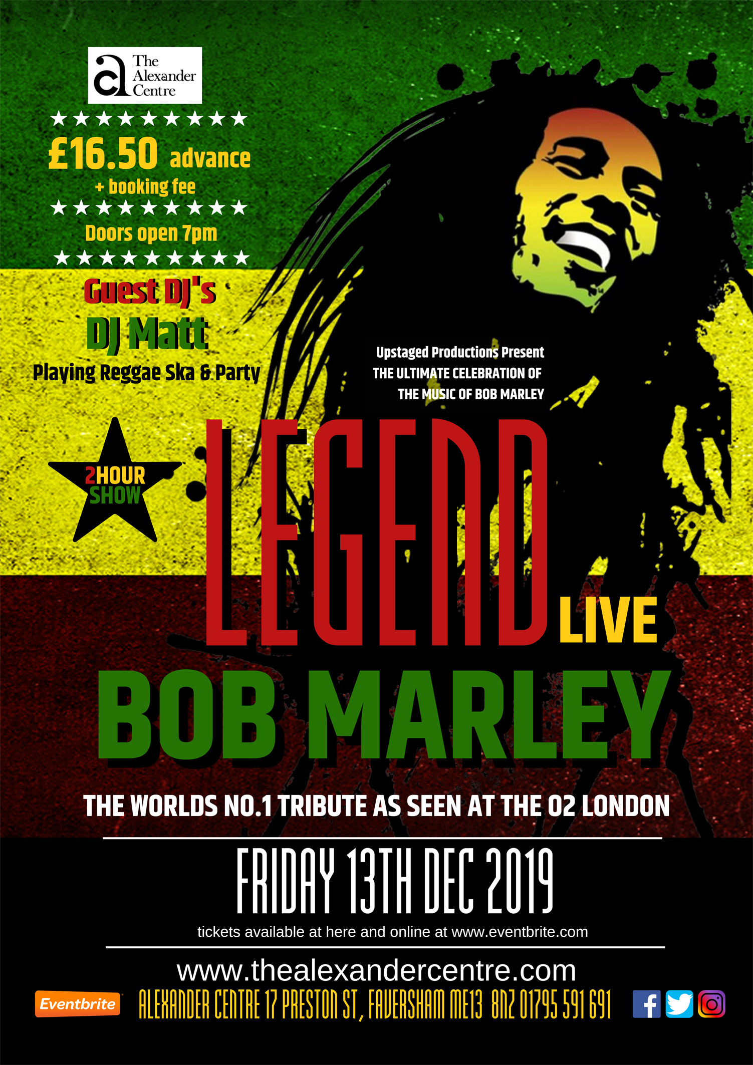 LEGEND LIVE The World's No.1 Tribute to Bob Marley