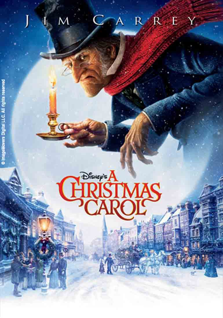 Christmas Family Film - A Christmas Carol with Jim Carrey
