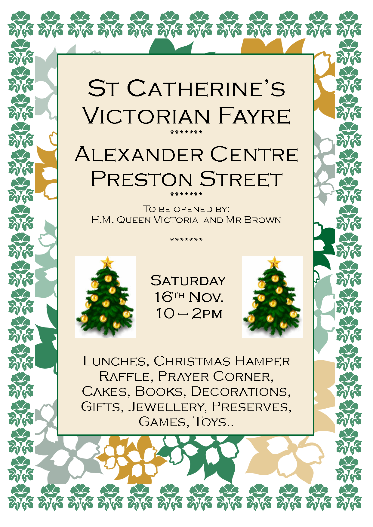 St Catherine's Victorian Fayre