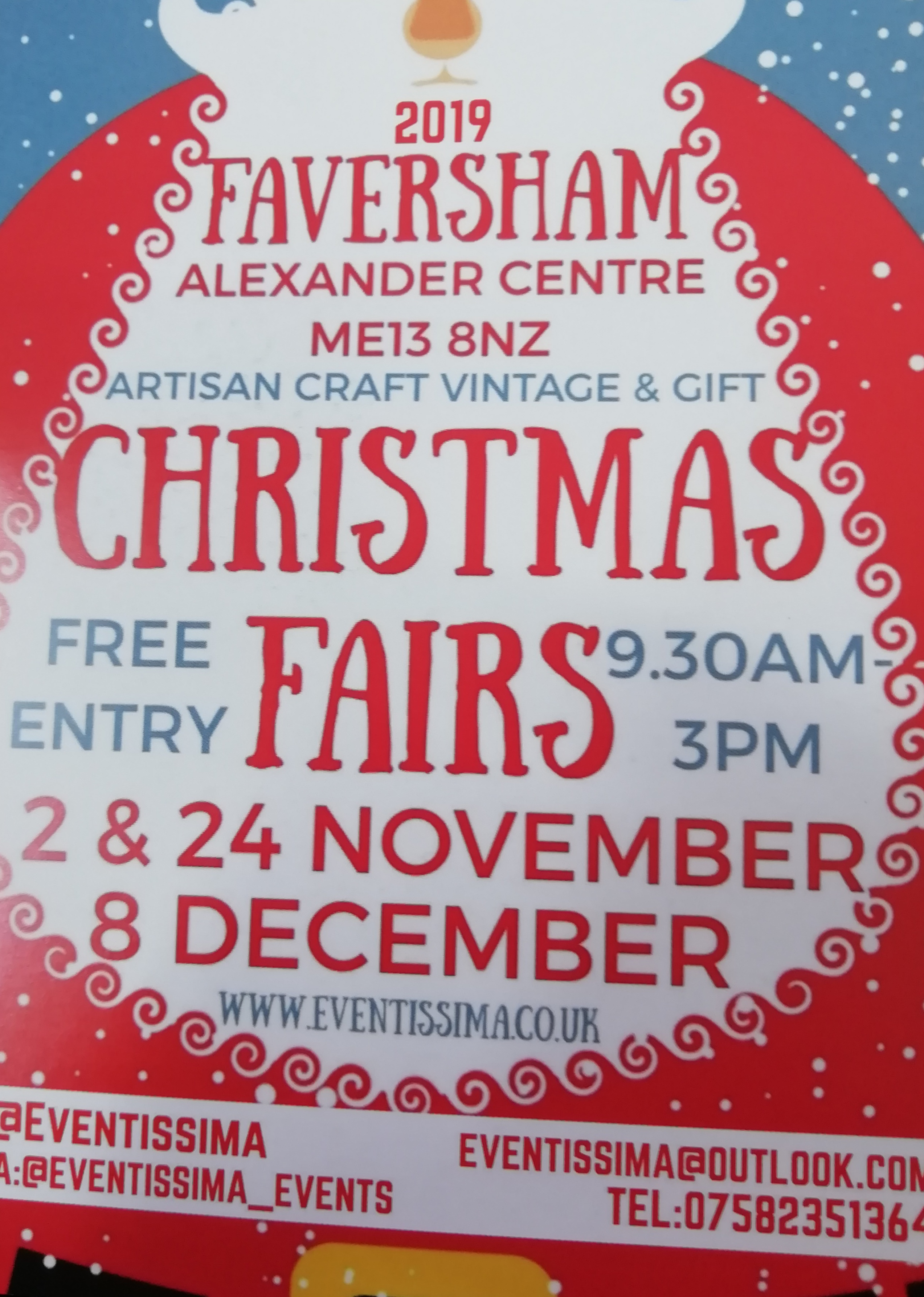 Eventissima Artisan Craft, Vintage and Gift Christmas Fair
