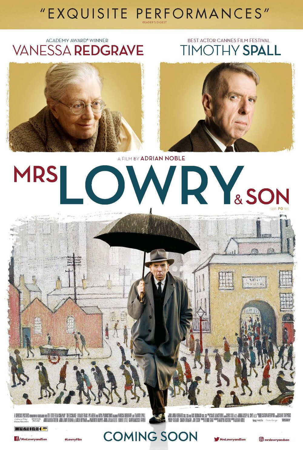 Market Day Matinee: Mrs Lowry & Son
