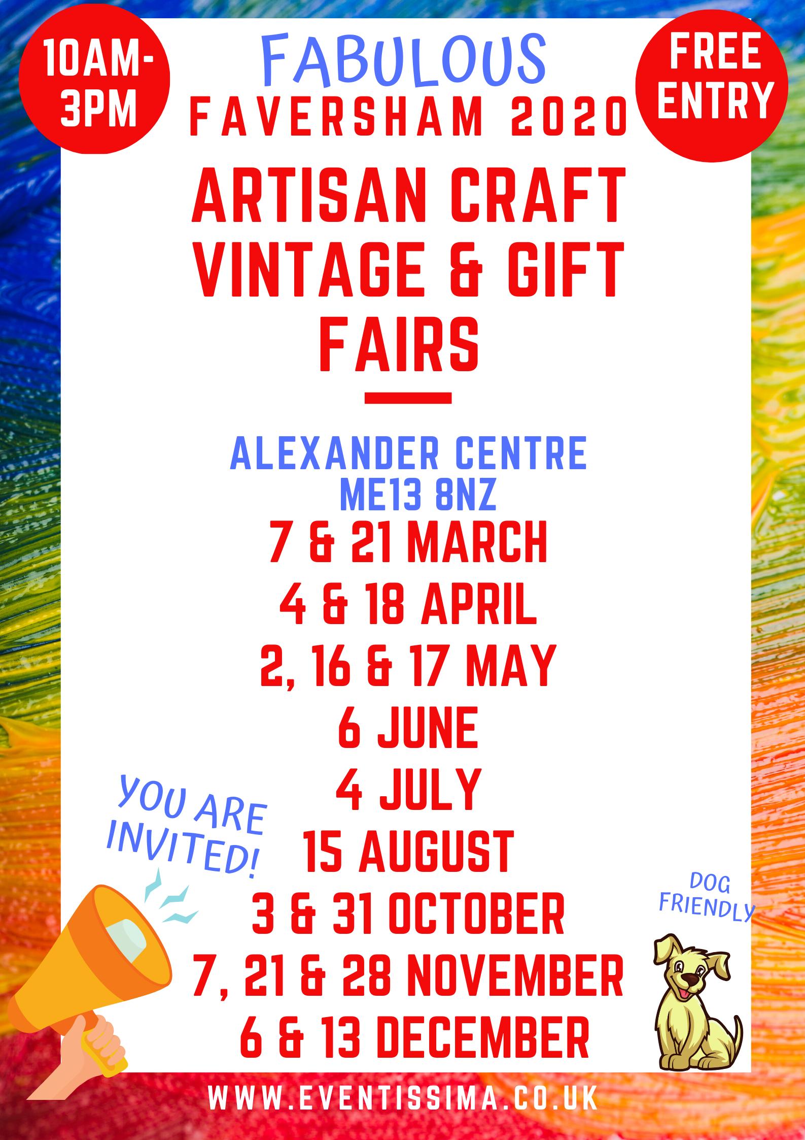 Faversham Artisan Crafts , Vintage and Gifts Fair