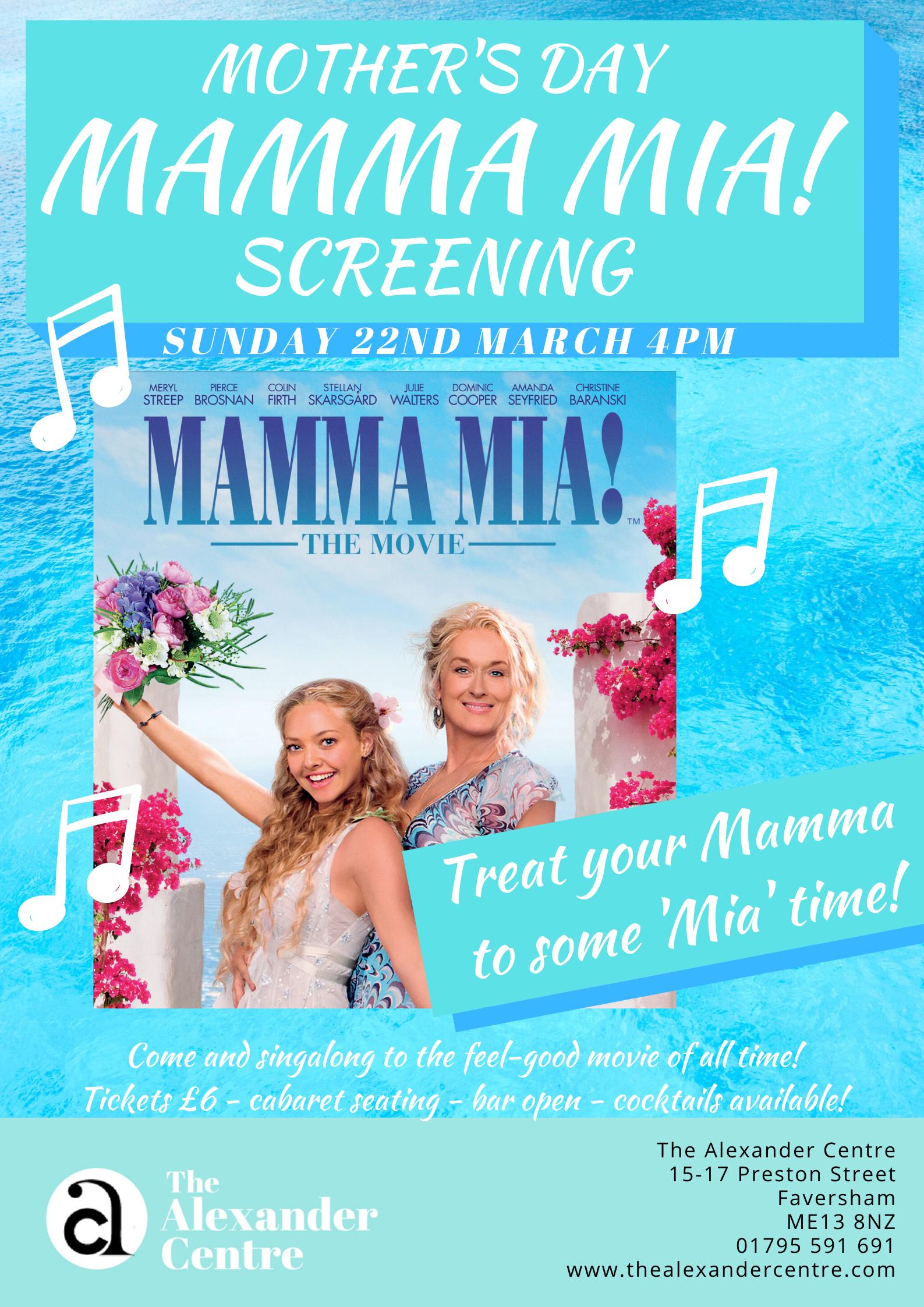 Mamma Mia! - Mother's Day Screening