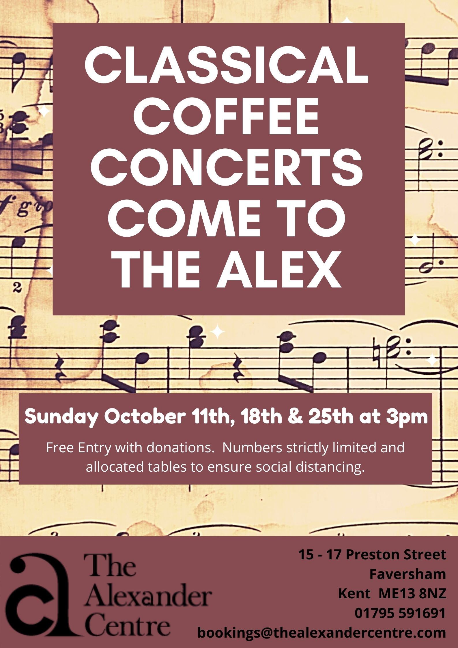 Classical Coffee Concerts