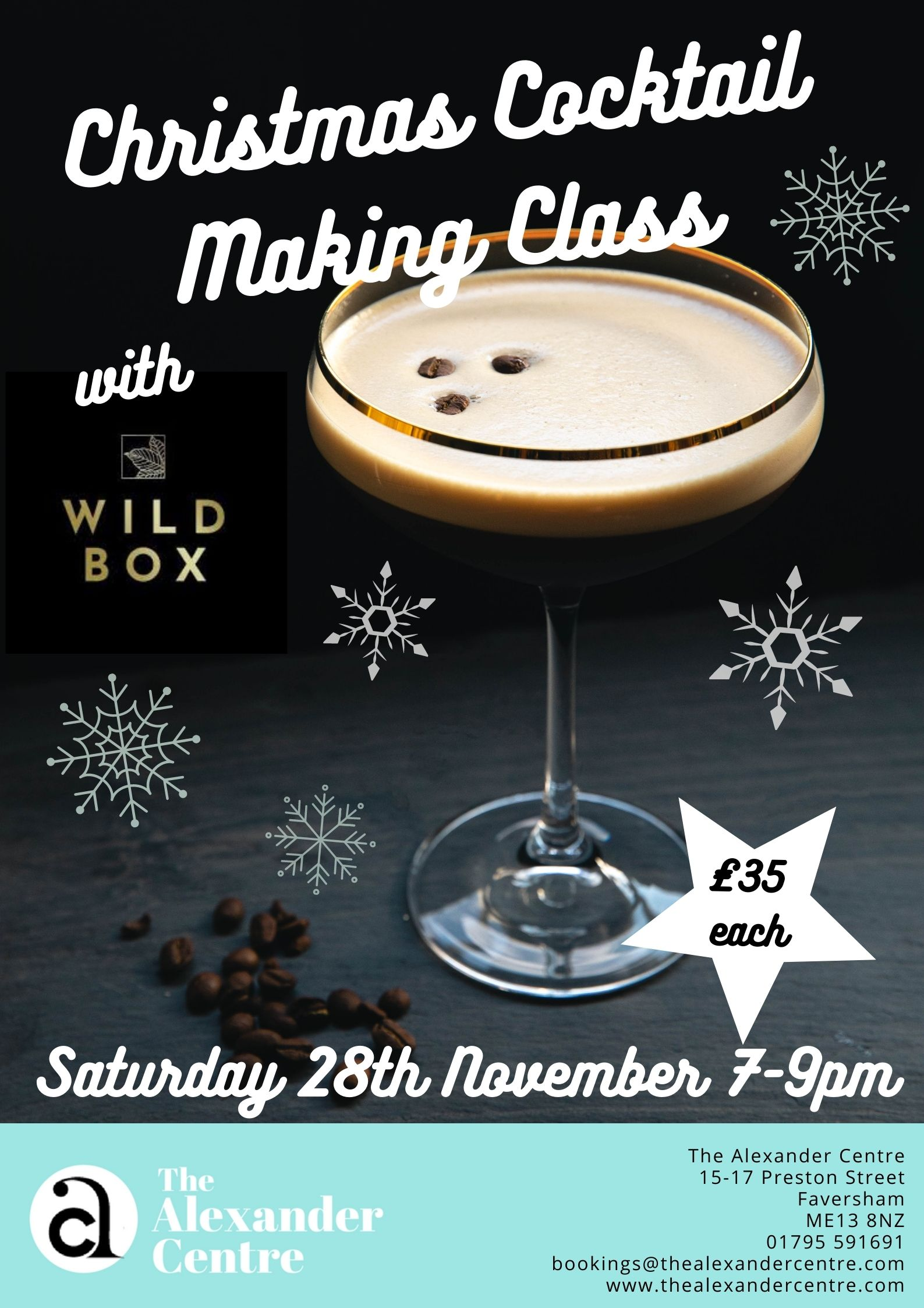 Christmas Cocktail Making Class
