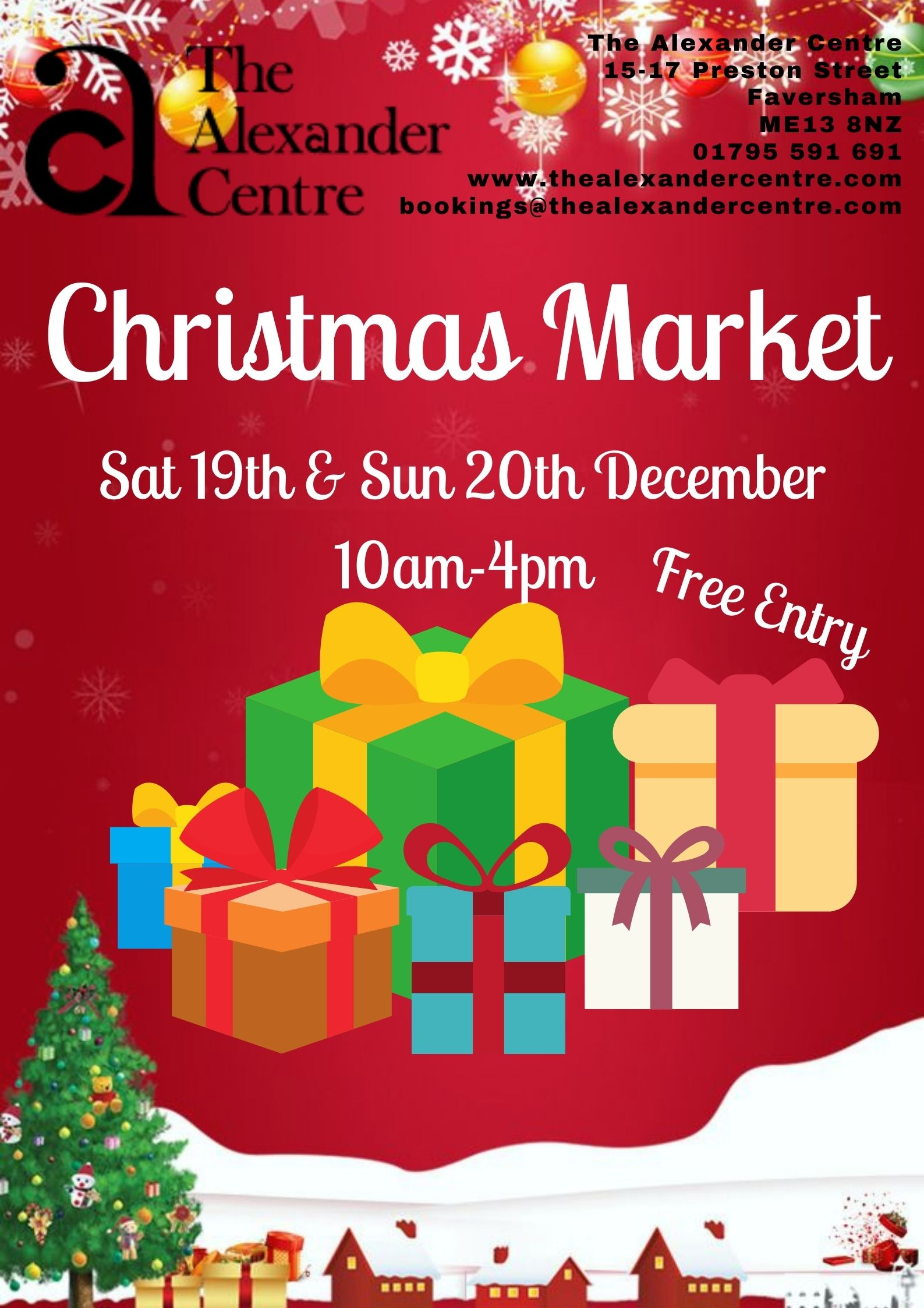 The Alexander Centre's Big Christmas Market