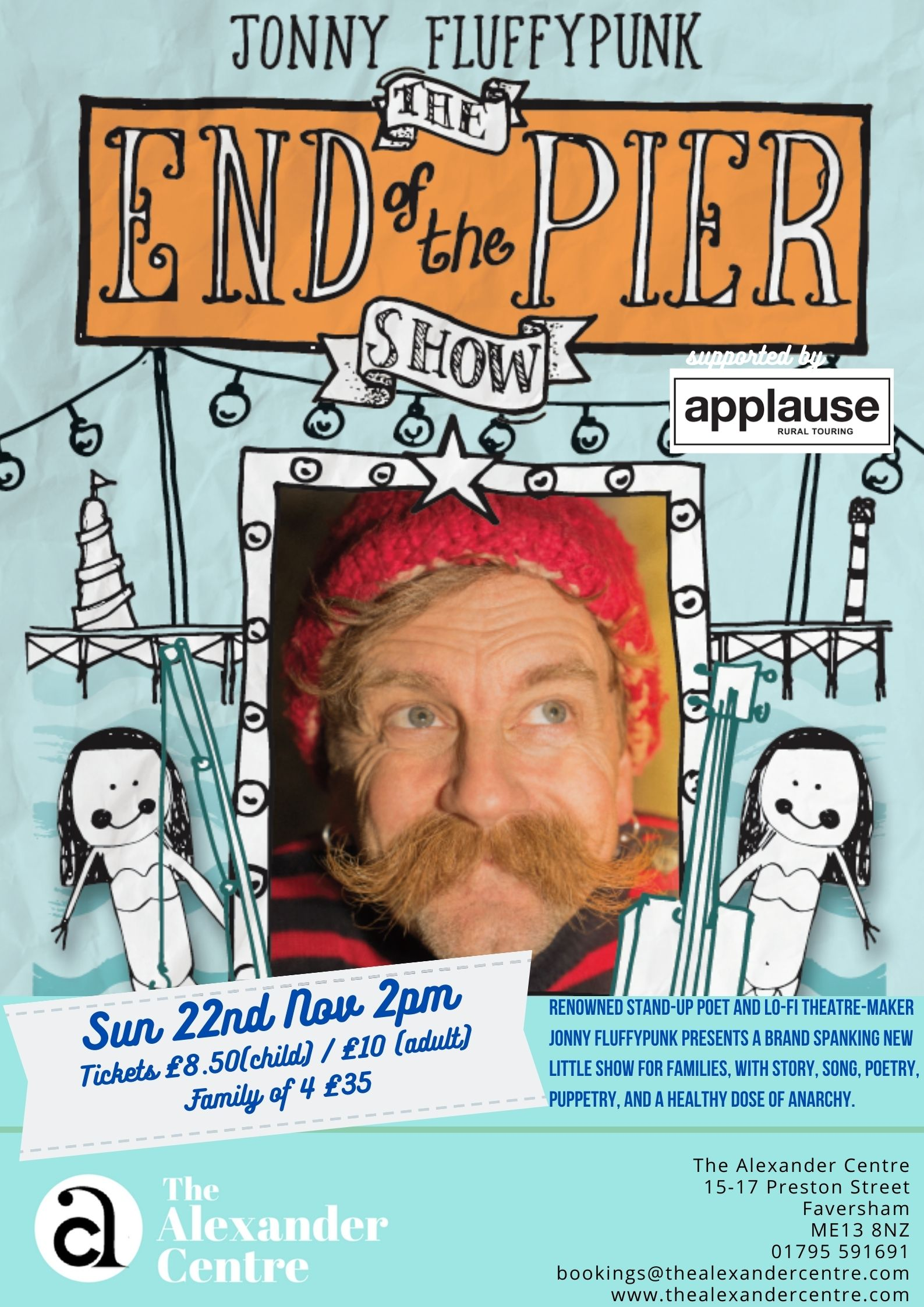 Jonny Fluffypunk's 'The End of the Pier Show'