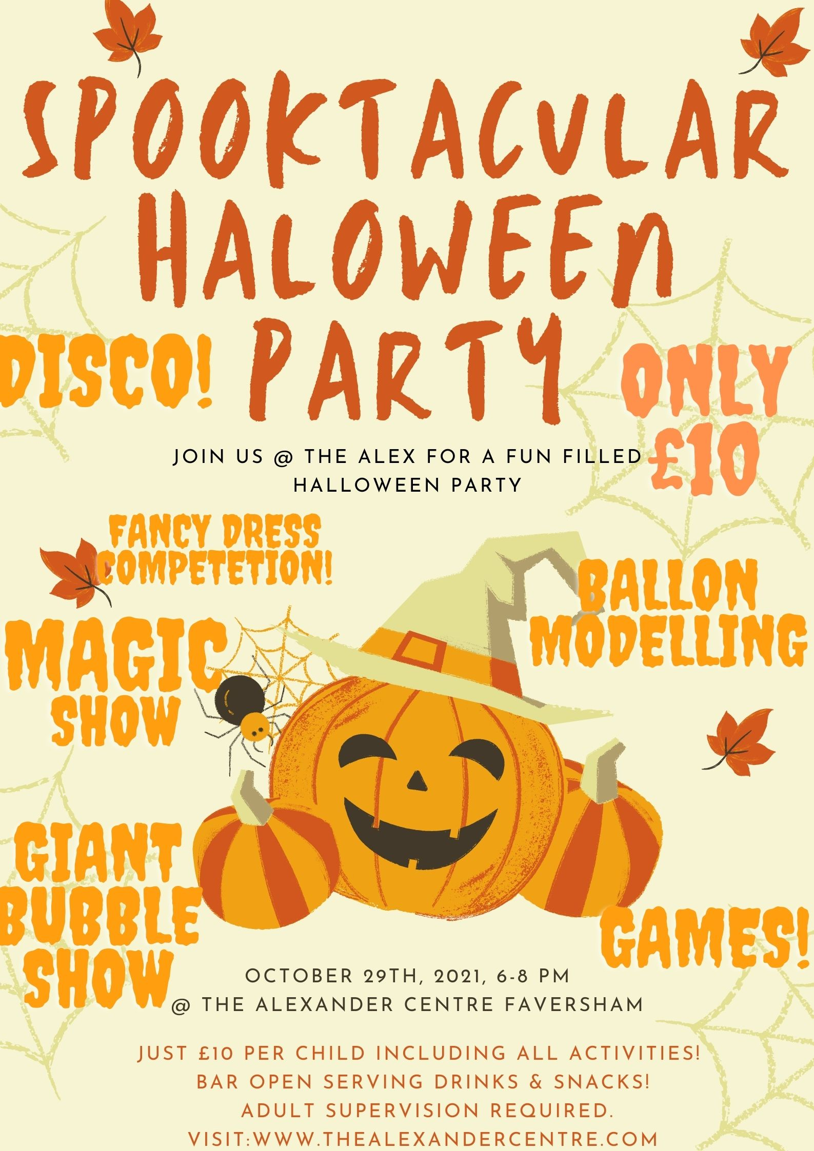 Spooktacular Kids Halloween Party