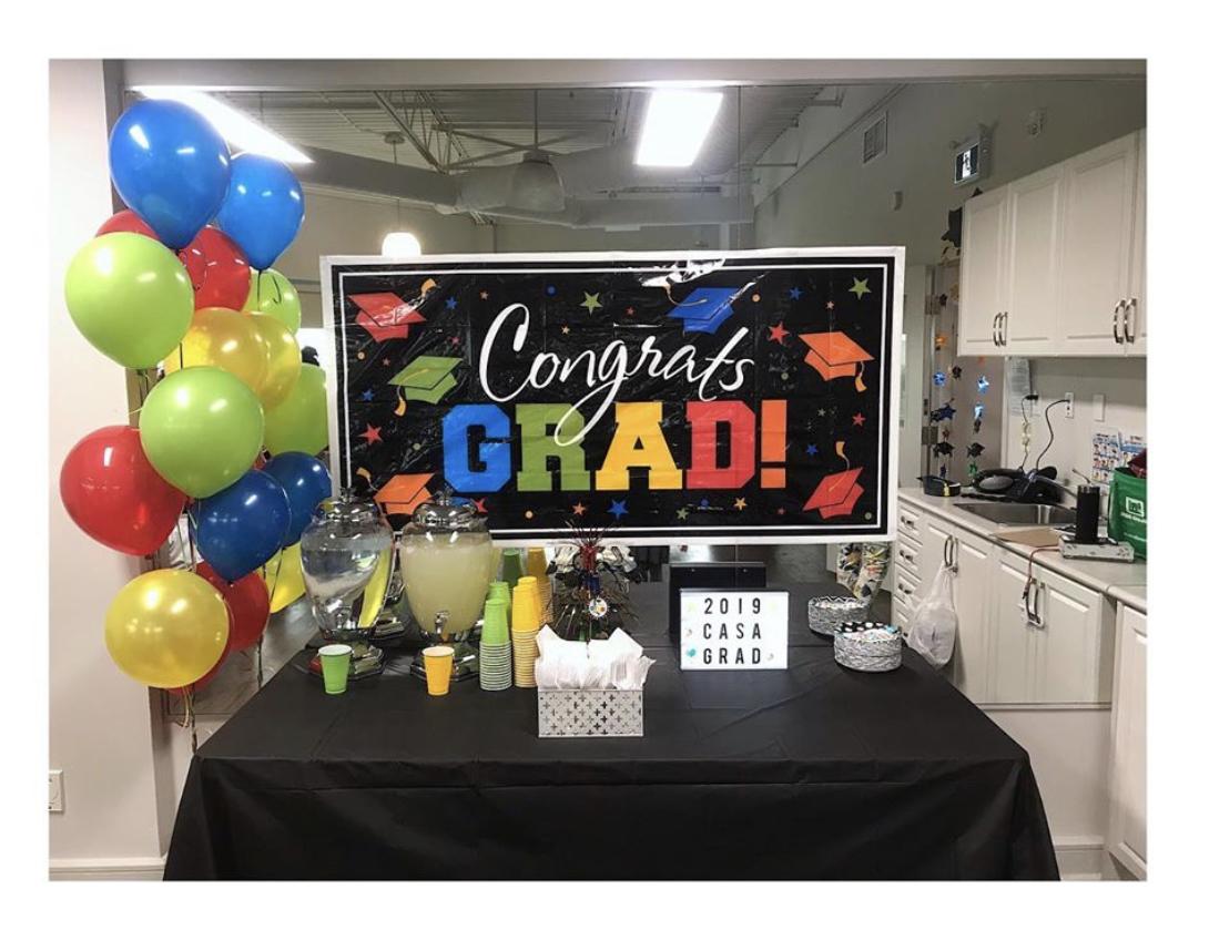 Montessori Casa Graduation Banner