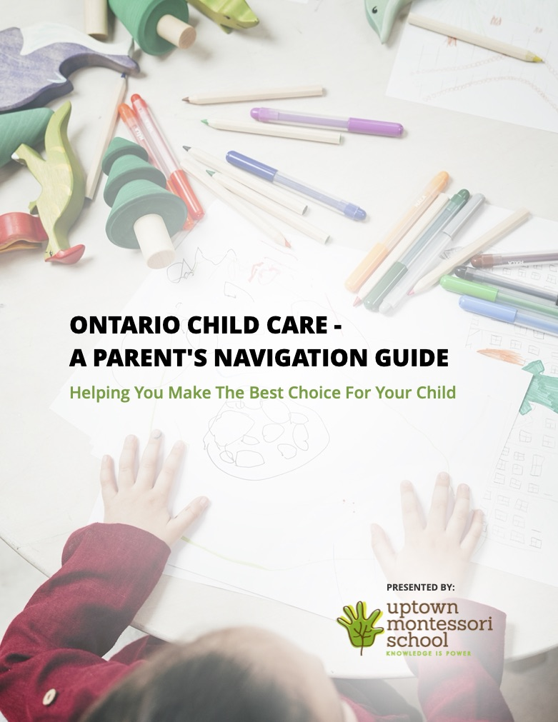 Cover: Ontario Child Care - A Parent's Navigation Guide