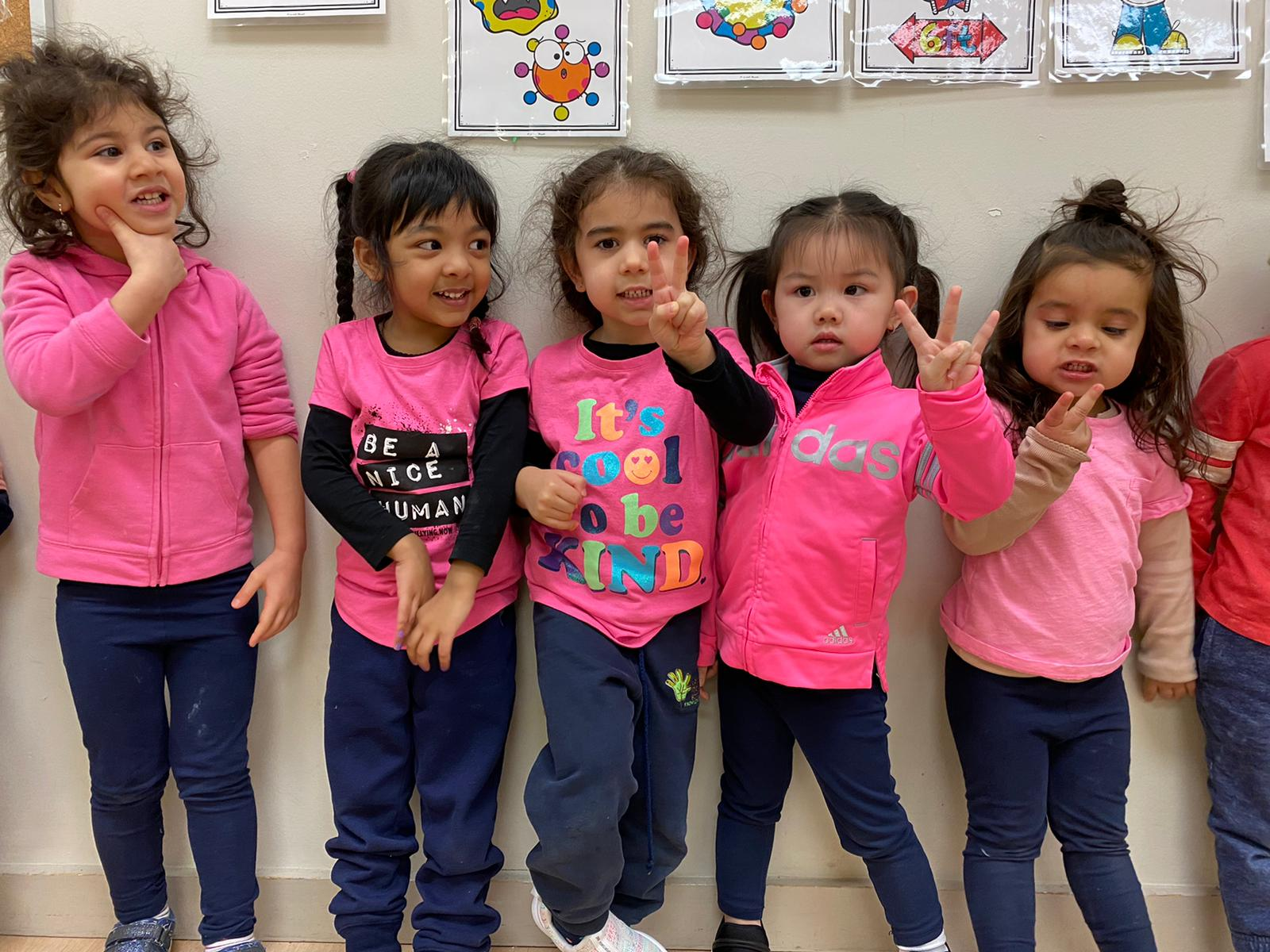 UMS students wear pink in support of Anti bullying