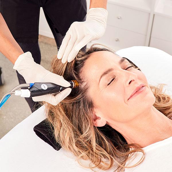 keravive treatment on woman