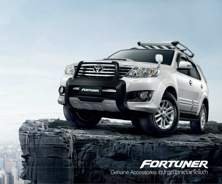 Dòng xe toyota fortuner