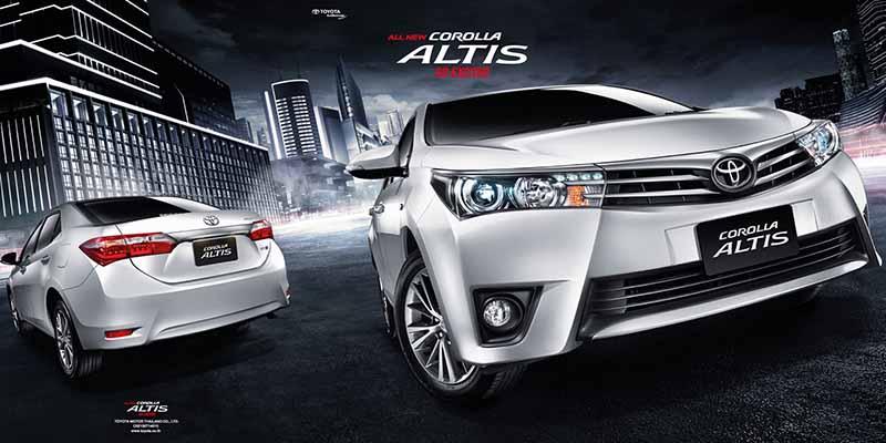 Giá xe Toyota Corolla Altis 2017