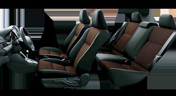 Nội thất xe Toyota nhập khẩu Yaris