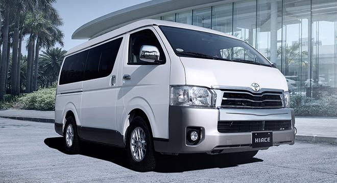 Giá xe Toyota thương mại - Dòng xe Toyota nhập khẩu Hiace
