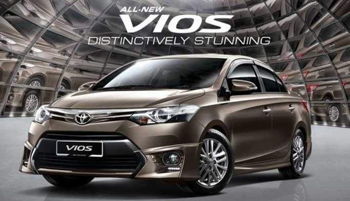 Giá xe Toyota Vios mới