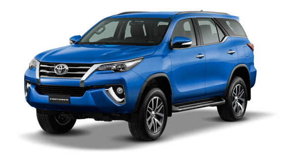fortuner 2017- xanh