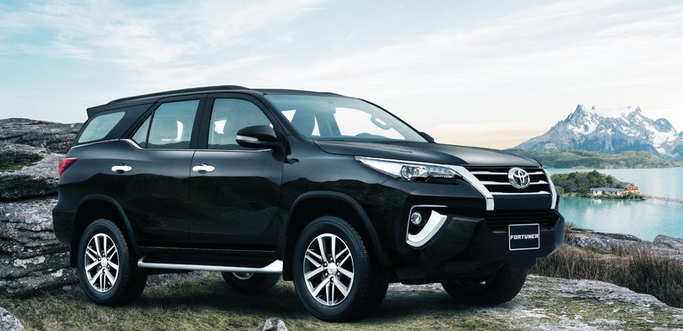 Fortuner 2017 mãnh lực, hào hoa với giá xe Toyota tăng nhẹ