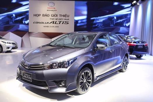 Xe Corolla Altis thế hệ thứ mười một (2012-nay)