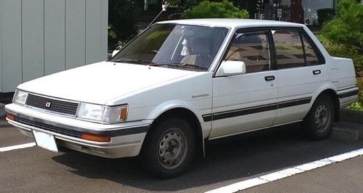 Xe Corolla Altis thế hệ thứ năm (E80; 1983-1986)