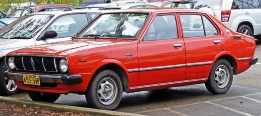 Xe Corolla Altis thế hệ thứ ba (E30, E40, E50, E60, 1974-1978)