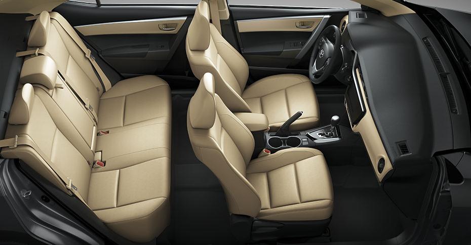 Nội thất xe Corolla Altis 2019