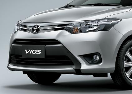 Toyota Vios E 2018 lưới tản nhiệt