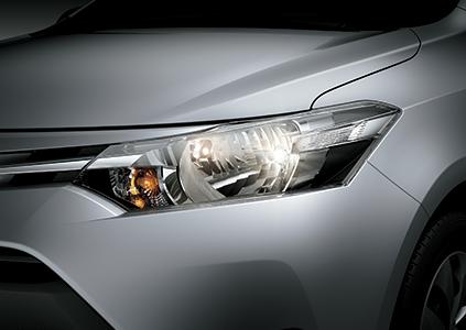 Toyota Vios E 2018 đèn 1
