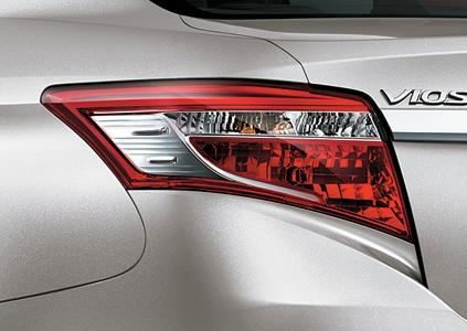 Toyota Vios E 2018 đuôi 2