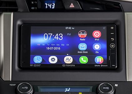 giá xe innova 2019 hệ thống âm thanh