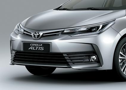 đánh giá xe altis 2019 đầu xe