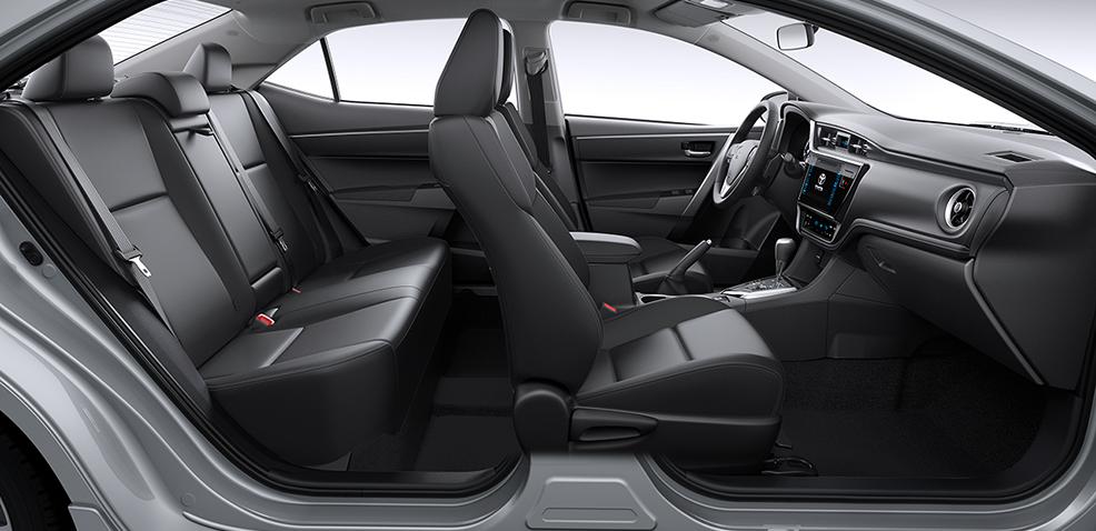 đánh giá xe altis 2019 hàng ghế
