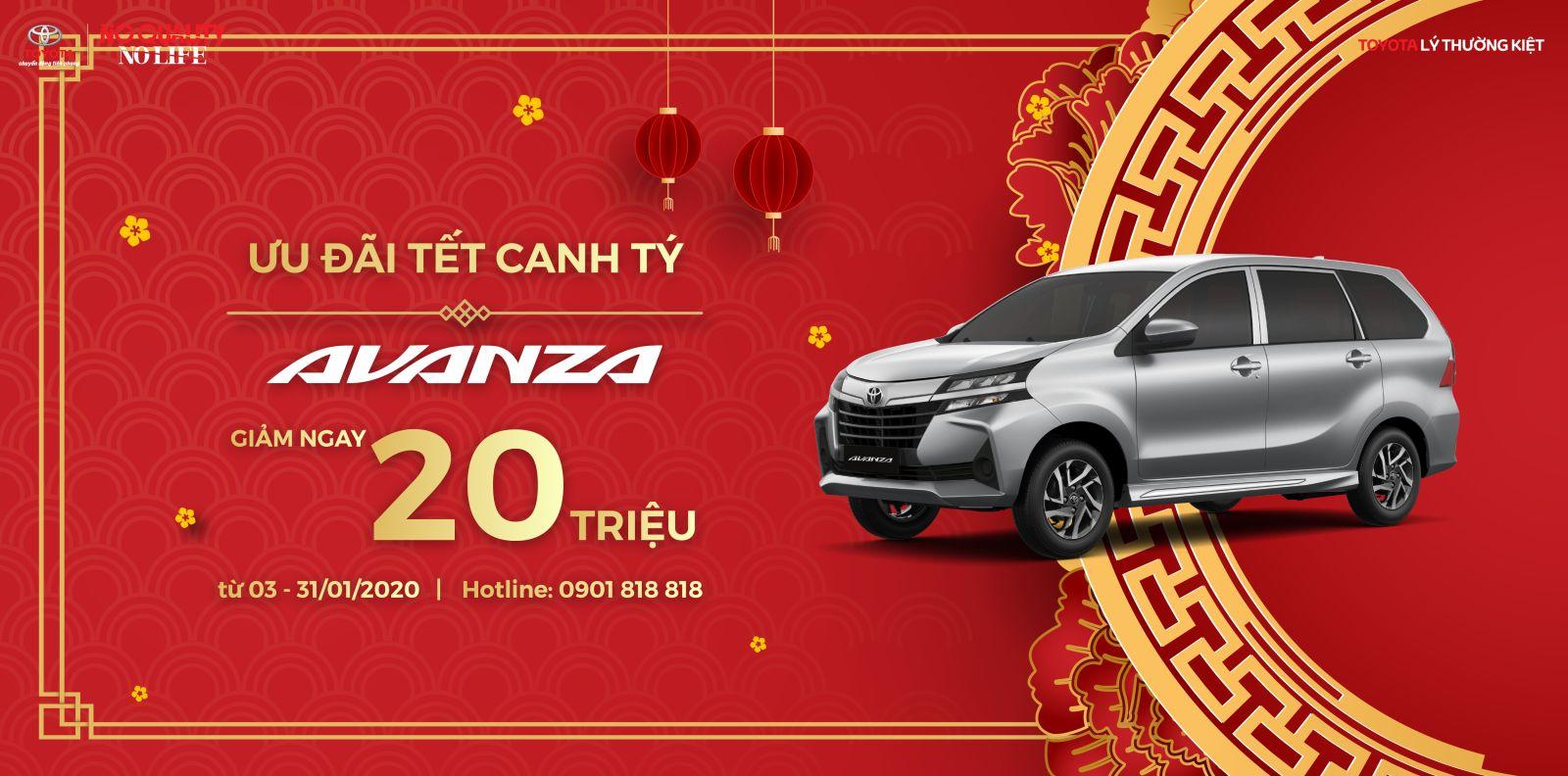 Giá xe Toyota 2020